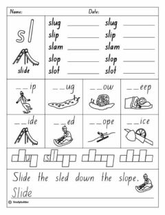 Interactive worksheet Sl- Blend