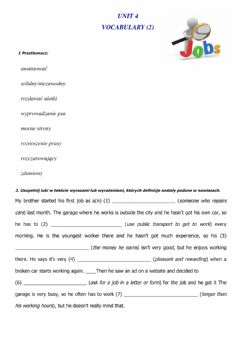 Interactive worksheet Jobs (2) new