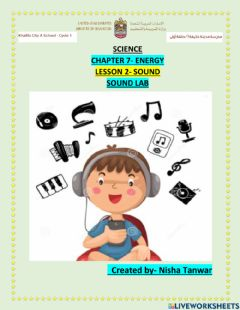 Interactive worksheet Chapter 7 lesson 2 SOUND LAB
