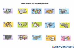 Interactive worksheet Listen and choose the best answer.