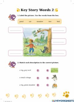 Ficha interactiva Peter and the Wolf Questions