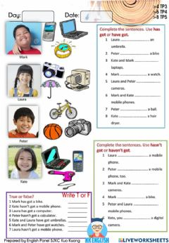 Interactive worksheet KKy3m1hh3