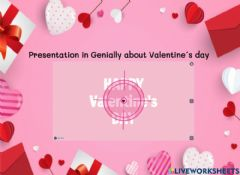 Interactive worksheet Valentine-s day presentation