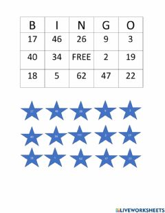 Ficha interactiva Subtraction with regrouping BINGO Card 2