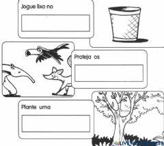 Interactive worksheet Complete as frases com os nomes das figuras