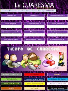 Interactive worksheet La Cuaresma en 12 claves