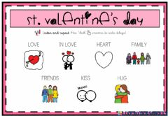 Interactive worksheet St. Valentine's Day