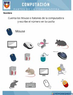 Interactive worksheet Mouse