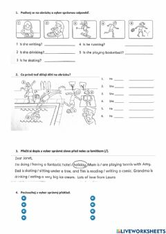 Interactive worksheet Chit chat 2 - unit 5