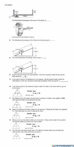 Interactive worksheet PS-12-Unit Study Guide page 4