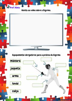 Interactive worksheet Esgrima