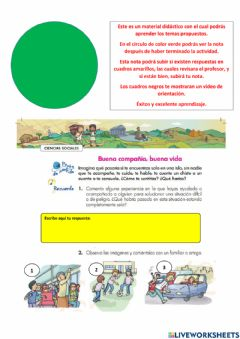 Interactive worksheet Sociales g1 s1