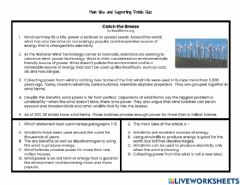 Interactive worksheet Main Idea and Supporting Details Quiz