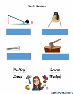 Interactive worksheet Simple Machines Practice