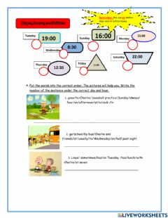 Interactive worksheet Present simple review