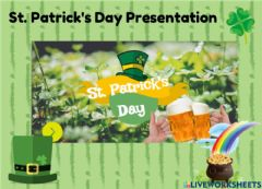 Interactive worksheet St. Patrick's Day Presentation