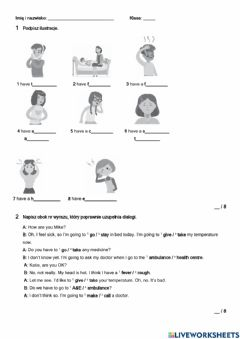 Interactive worksheet Brainy 6 unit 6
