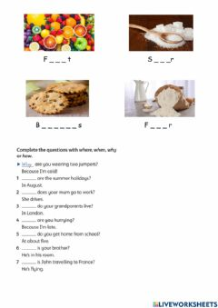 Interactive worksheet Welcome 1 unit 13