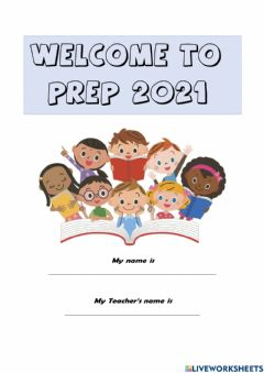 Interactive worksheet Welcome to Prep