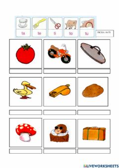 Interactive worksheet Ficha 10-t1