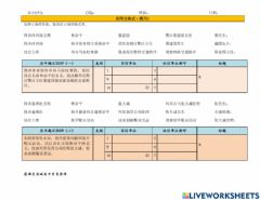 Interactive worksheet 公函格式练习