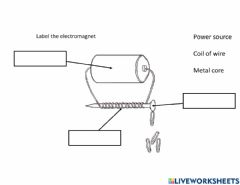 Interactive worksheet Electromagnet