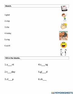 Interactive worksheet A Musical Day1