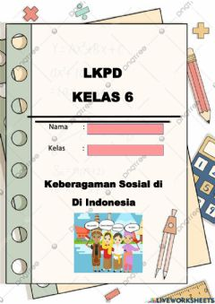 Interactive worksheet Keberagaman Sosial