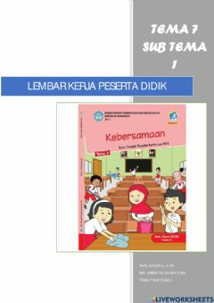 Interactive worksheet Latihan E-LKPD