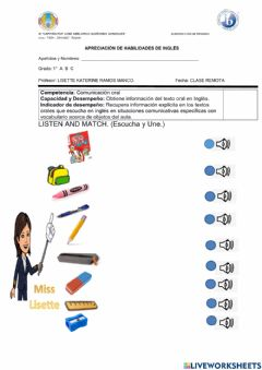 Ficha interactiva What-s this? it-s a book