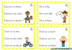 Interactive worksheet Phrases images 1