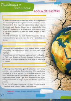 Interactive worksheet Acqua da salvare