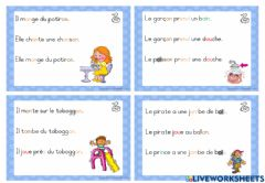 Interactive worksheet Phrases images 9