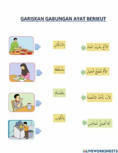 Interactive worksheet Fiil Alatan dapur