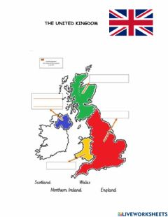 Interactive worksheet United Kingdom