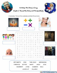Interactive worksheet Miss Daisy-Chapter 2