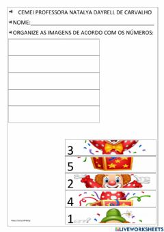 Interactive worksheet Circo