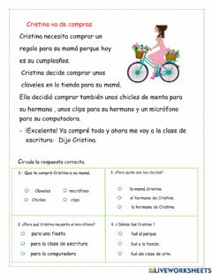 Interactive worksheet Sílabas trabadas : cl- cr