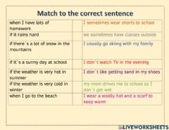 Ficha interactiva Cause and Effect sentences