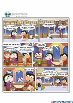Interactive worksheet Reading comprehesion (poptropica 4)