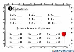 Interactive worksheet Révision 30 mars-1