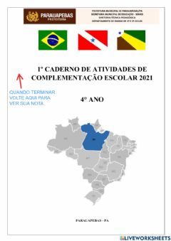 Interactive worksheet 1º cad-at-Artes-edfisica-religiao-2021-4º ano
