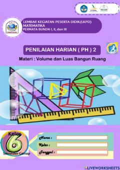 Interactive worksheet PH 2 Matematika