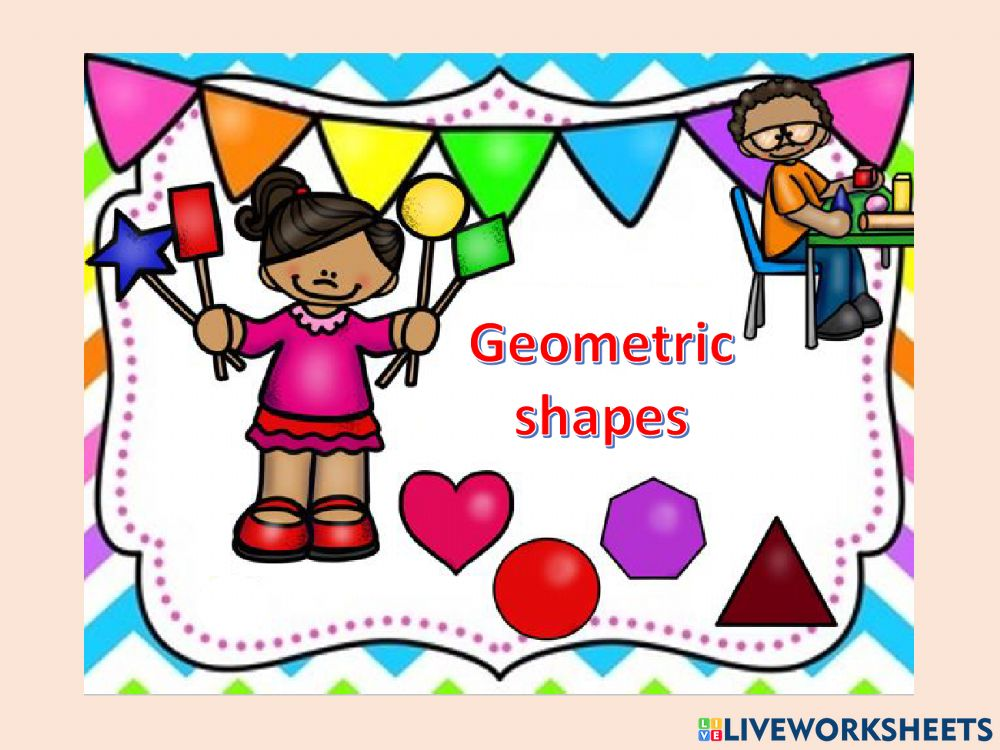 Listen And Repeat: Shapes Worksheet