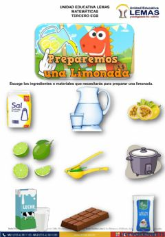 Interactive worksheet Limonada