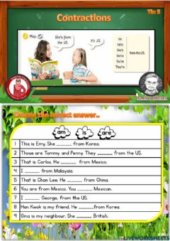 Interactive worksheet Get smart plus 4
