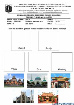 Interactive worksheet Pts genap pkn (praktik)