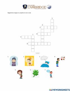 Interactive worksheet Expressions du verbe avoir