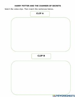 Interactive worksheet Past Continuous Harry Potter