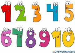 Ficha interactiva Say the numbers out loud!